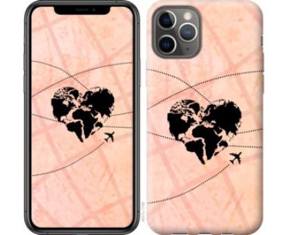 Чехол Путешествуй для iPhone 11 Pro