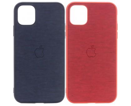 TPU чехол Textile Logo для Apple iPhone 11 Pro (5.8)