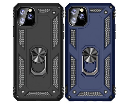 Ударопрочный чехол Serge Ring магнитный держатель для Apple iPhone 11 Pro (5.8)