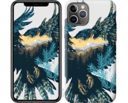 Чехол Арт-орел на фоне природы для iPhone 11 Pro