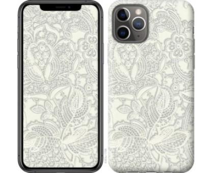 Чехол Белое кружево для iPhone 11 Pro