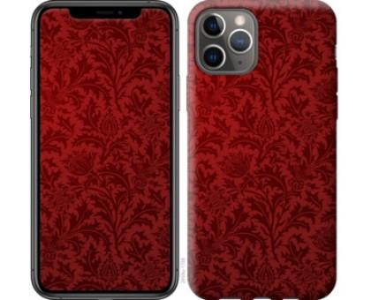 Чехол Чехол цвета бордо для iPhone 11 Pro
