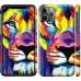 Чехол Разноцветный лев для iPhone 11 Pro Max