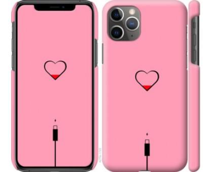 Чехол Подзарядка сердца1 для iPhone 11 Pro Max