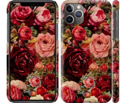 Чехол Цветущие розы для iPhone 11 Pro Max
