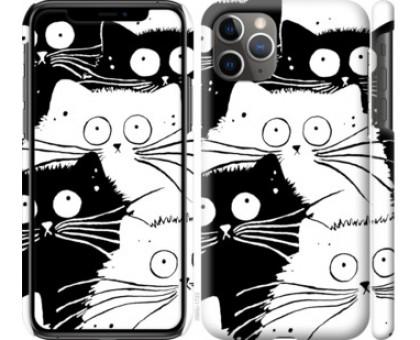 Чехол Коты v2 для iPhone 11 Pro Max