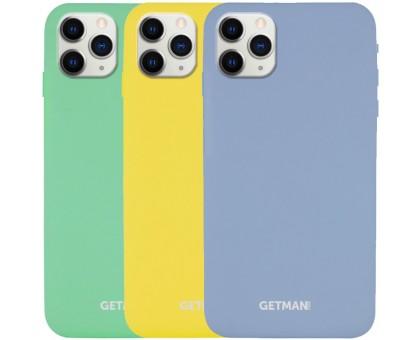 Чехол Silicone Case GETMAN for Magnet для Apple iPhone 11 Pro Max (6.5)