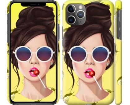 Чехол Девушка с чупа-чупсом для iPhone 11 Pro Max