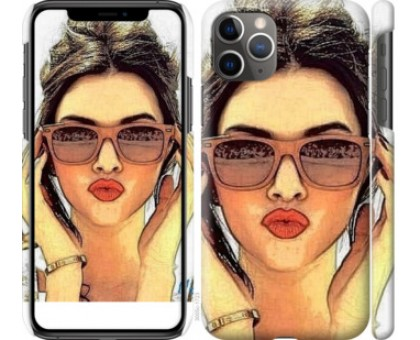 Чехол Девушка_арт для iPhone 11 Pro Max