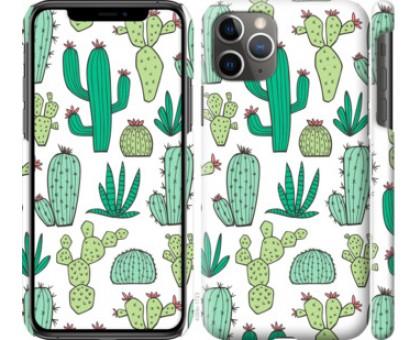 Чехол кактусы 2 для iPhone 11 Pro Max