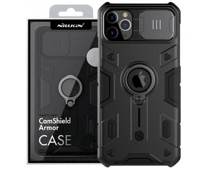 TPU+PC чехол Nillkin CamShield Armor (шторка на камеру) для Apple iPhone 11 Pro Max (6.5)