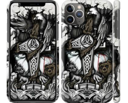 Чехол Тату Викинг для iPhone 11 Pro Max