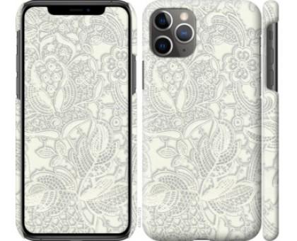 Чехол Белое кружево для iPhone 11 Pro Max