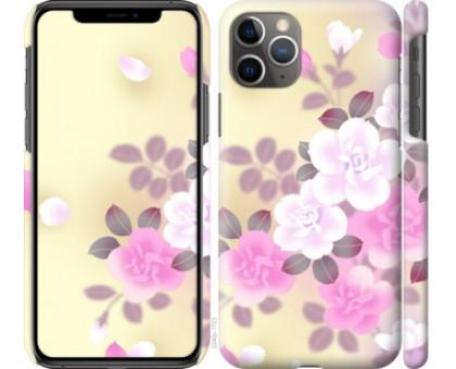 Чехол Японские цветы для iPhone 11 Pro Max
