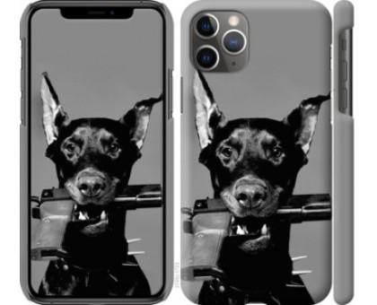 Чехол Доберман для iPhone 11 Pro Max