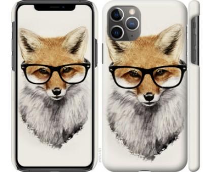 Чехол Лис в очках для iPhone 11 Pro Max