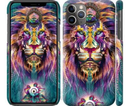 Чехол Люминесцентный лев для iPhone 11 Pro Max
