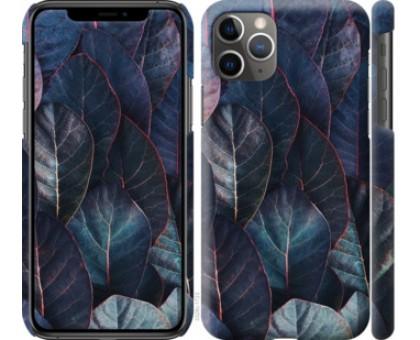 Чехол Листья v3 для iPhone 11 Pro Max