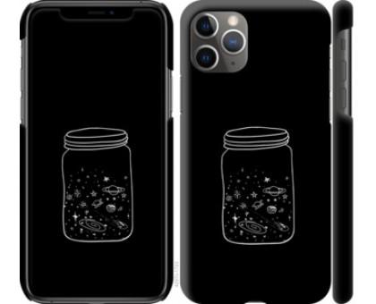 Чехол Космос в банке для iPhone 11 Pro Max
