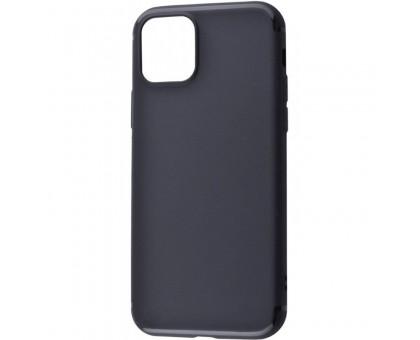 TPU чехол Black Matt 0.5mm для Apple iPhone 11 Pro Max (6.5)