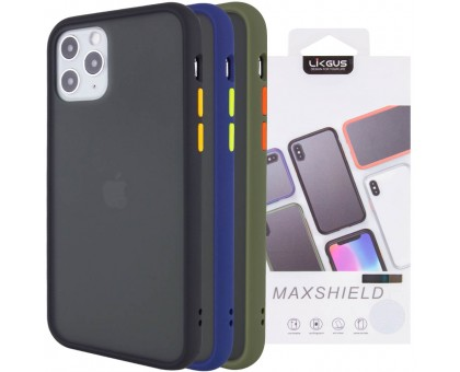 TPU+PC чехол LikGus Maxshield для Apple iPhone 11 Pro Max (6.5)