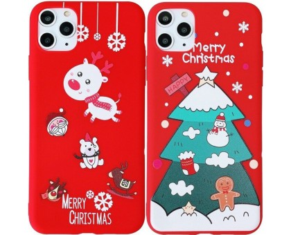 Пластиковая накладка Merry Christmas для Apple iPhone 11 Pro Max (6.5)