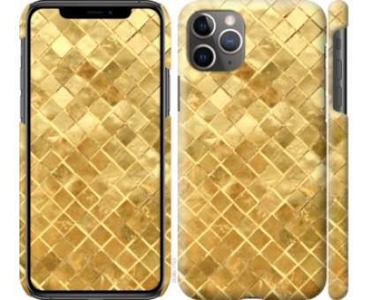Чехол Текстура цвета золото для iPhone 11 Pro Max