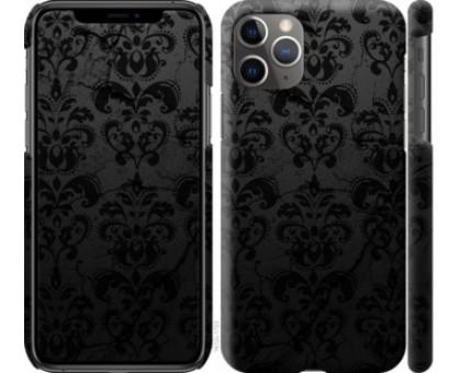 Чехол узор черный для iPhone 11 Pro Max