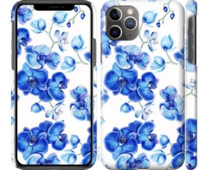 Чехол Голубые орхидеи для iPhone 11 Pro Max