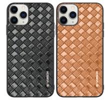 """Кожаная накладка VORSON Braided leather series для Apple iPhone 11 Pro Max (6.5"""")"""