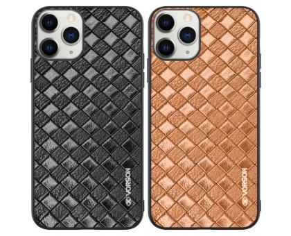 Кожаная накладка VORSON Braided leather series для Apple iPhone 11 Pro Max (6.5)