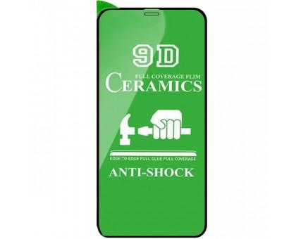 Защитная пленка Ceramics 9D (без упак.) для Apple iPhone 11 Pro Max (6.5)