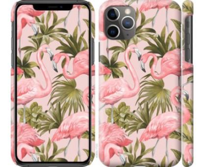 Чехол фламинго 2 для iPhone 11 Pro Max