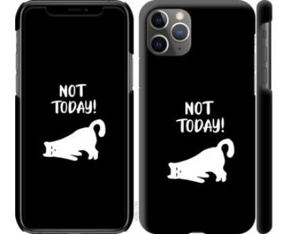 Чехол Уставший кот для iPhone 11 Pro Max