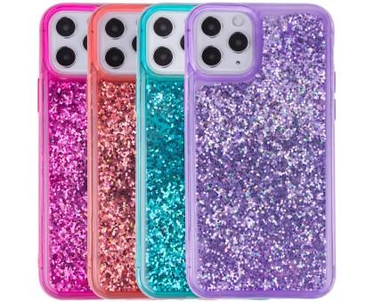 TPU+PC чехол Sparkle (glitter) для Apple iPhone 11 Pro Max (6.5)