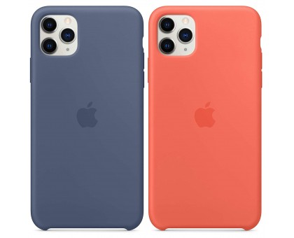Чехол Silicone case (AAA) для Apple iPhone 11 Pro Max (6.5)