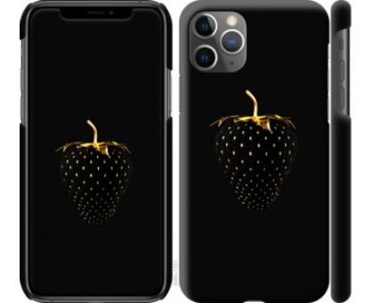 Чехол Черная клубника для iPhone 11 Pro Max