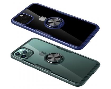 TPU+PC чехол Deen CrystalRing for Magnet (opp) для Apple iPhone 11 Pro Max (6.5)