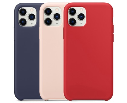 Чехол Silicone Case without Logo (AA) для Apple iPhone 11 Pro Max (6.5)