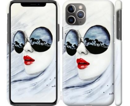 Чехол Девушка акварелью для iPhone 11 Pro Max