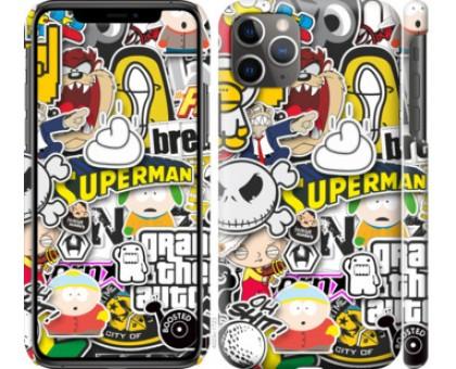 Чехол Popular logos для iPhone 11 Pro Max