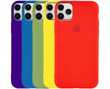 Чехол Silicone Case Slim Full Protective для Apple iPhone 11 Pro Max (6.5)