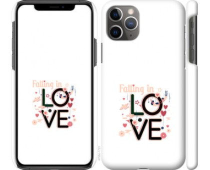 Чехол falling in love для iPhone 11 Pro Max