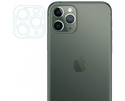 Гибкое защитное стекло 0.18mm на камеру и весь блок (тех.пак) для Apple iPhone 11 Pro / 11 Pro Max