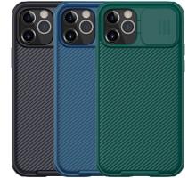"Карбоновая накладка Nillkin Camshield (шторка на камеру) для Apple iPhone 12 Pro Max (6.7"")"