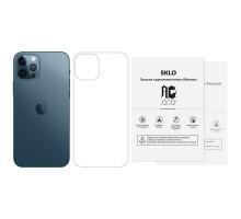 """Защитная гидрогелевая пленка SKLO (тыл) (тех.пак) для Apple iPhone 12 Pro Max (6.7"""")"""