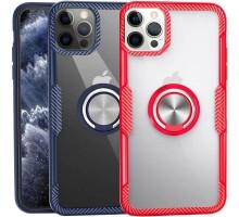 "TPU+PC чехол Deen CrystalRing for Magnet (opp) для Apple iPhone 12 Pro Max (6.7"")"