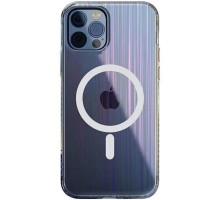 "TPU+Glass чехол Aurora with Magsafe для Apple iPhone 12 Pro Max (6.7"")"