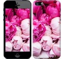 Чехол Розовые пионы для iPhone 5/5S/SE