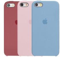Чехол Silicone Case (AA) для Apple iPhone 5/5S/SE